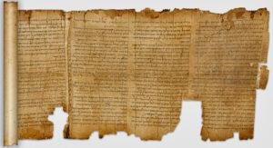 Ishoya payg'ambarinig qo'lyozmasi - Masihdan oldingi 1. asr