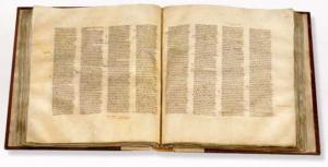 Eng eski butun Injil, Codex Sinaiticus, 4. asrdan